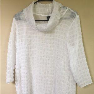 CHICOS white tunic